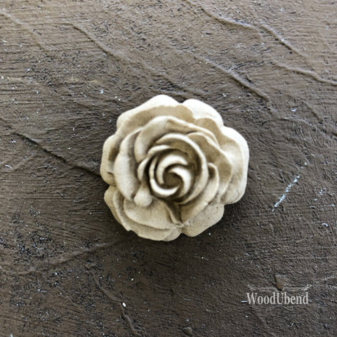 WoodUBend | Decorative Small Rose Moulding ( 0320 ) | 3cm x 2cm