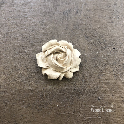 WoodUBend | Tiny Craft Rose ( 0322 ) | 1cm x 1cm