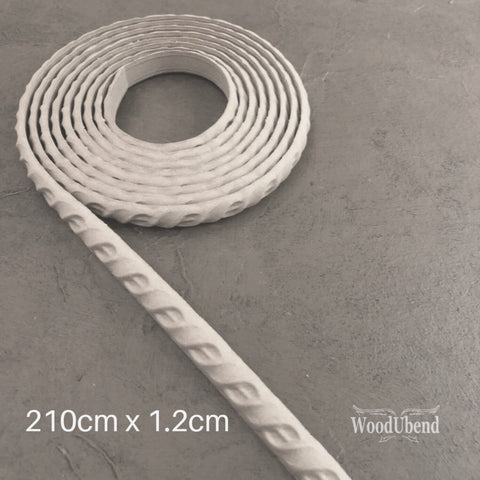 WoodUBend | Decorative Trim ( TR60 ) | 210cm x 1.2cm