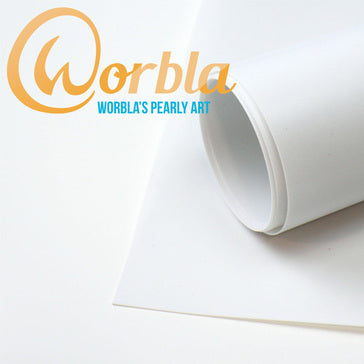 Worbla - Thermoplastic Sheet - Pearly Art, Thermoplastic, Worbla, Titanic FX, Titanic FX Store, Prosthetic, Makeup, MUA, SFX, FX Makeup, Belfast, UK, Europe, Northern Ireland, NI