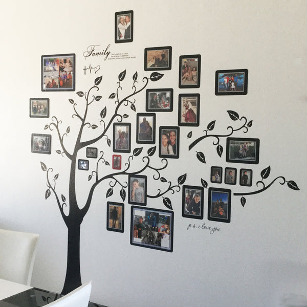 Create a Family Tree Wall Display