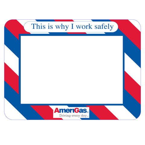 peel and stick acrylic safety photo frame