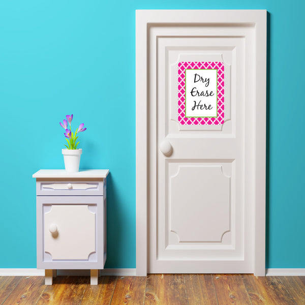 peel and stick dry erase board for dorm room door