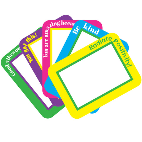 bright positive peel and stick dry erase notes to encourage kids and end bullying
