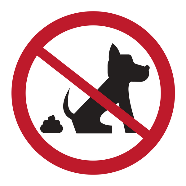 No dog poop for reusable adhesive picture frames