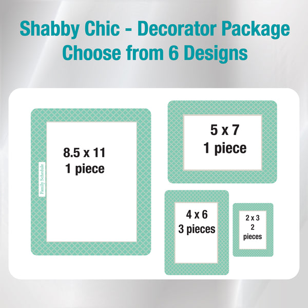 shabby chic peel and stick reusable adhesive dry erase board picture frame for non magnetic stainless steel refrigerator calendar organizer