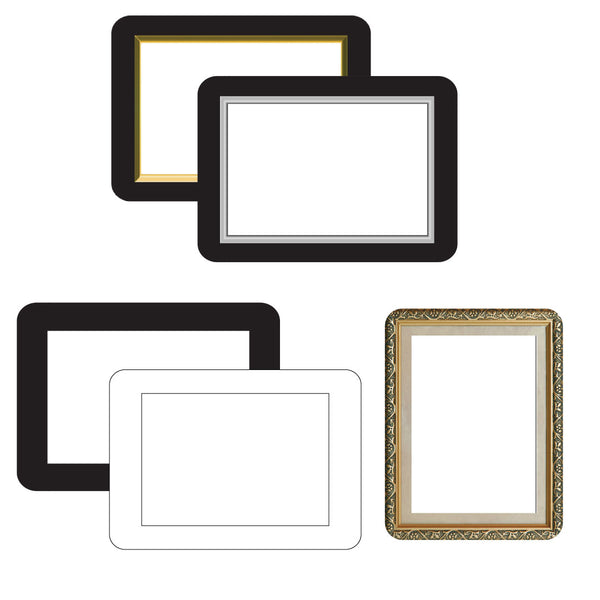 peel and stick reusable photo frames how to hang pictures in rv motorhome trailer
