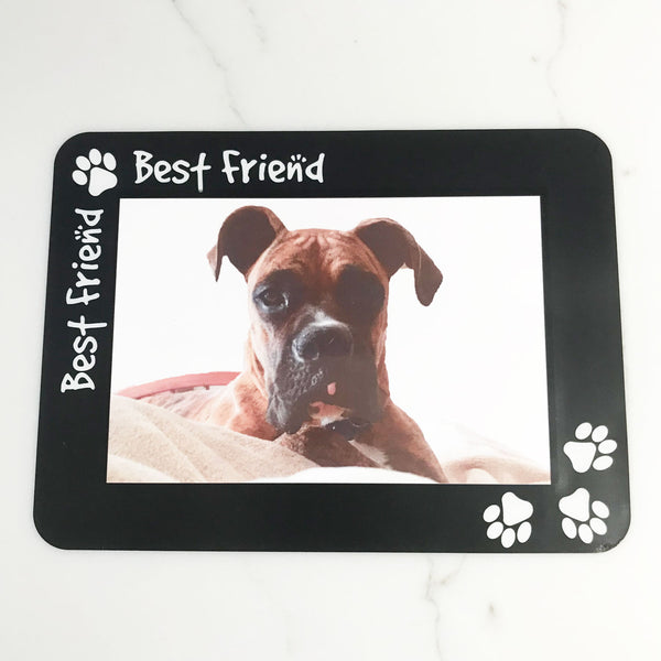 Pet Best Friend Print Self-Stick Picture Frames Collection
