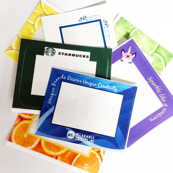 2 x 3  Customizable Dry Erase Reusable Adhesive Frames