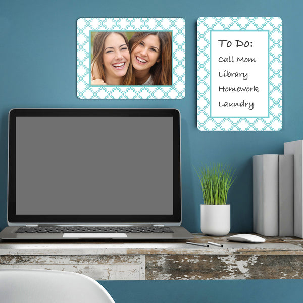 Multi-Pack of Self-Stick Picture Frames in Coronado Patterns