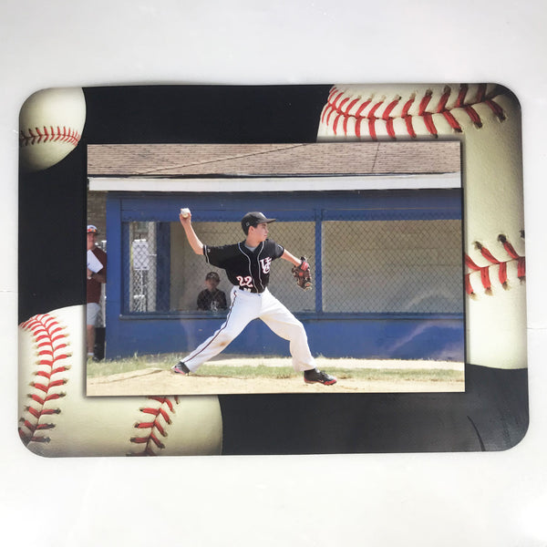 Baseball Themed Dry Erase Adhesive Picture Frames Collection