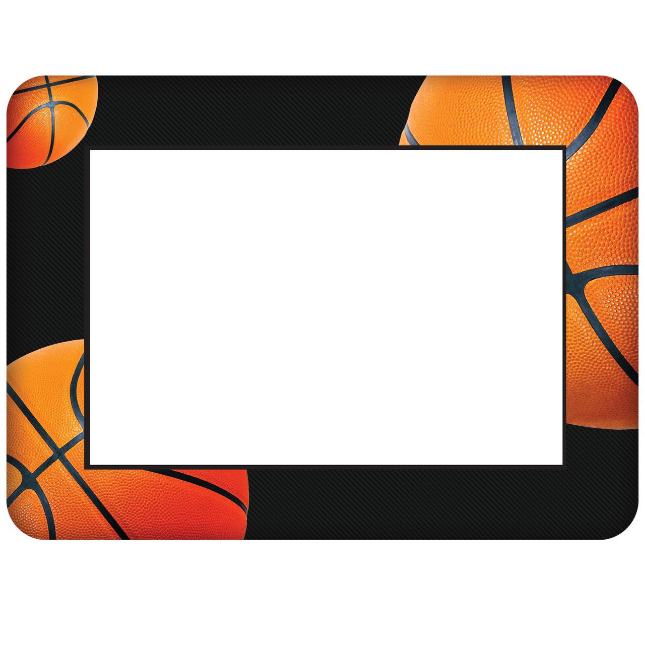 Basketball Themed Dry Erase Adhesive Picture Frames Collection