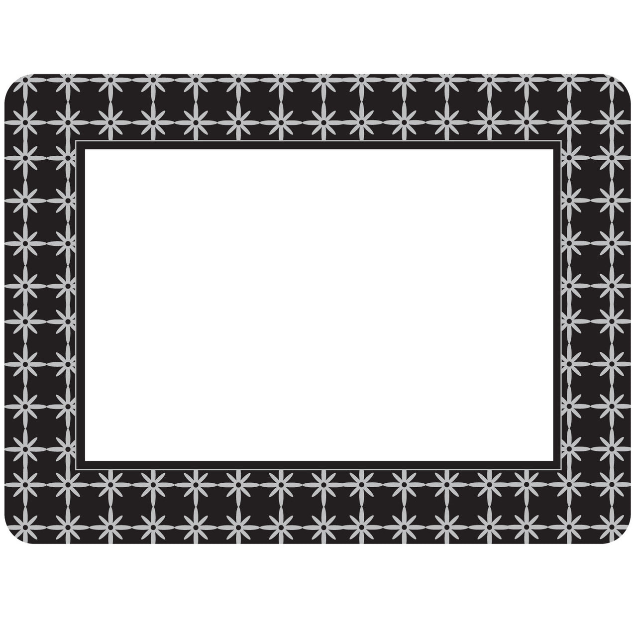 Grayscape Black Self-Stick Picture Frames Collection