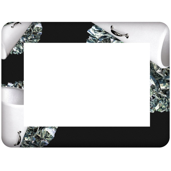 Cheer Themed Dry Erase Adhesive Picture Frames Collection