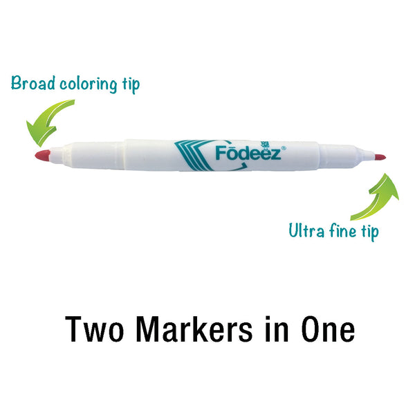 4 x 6 Colorable Adhesive Frames / Dry Erase Boards with Markers - Fodeez® Adhesive Display Frames / Dry Erase Boards  - 10