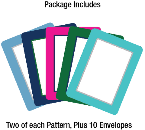 Custom Birthday Greeting Adhesive Photo Cards - Fodeez® Adhesive Display Frames / Dry Erase Boards  - 1