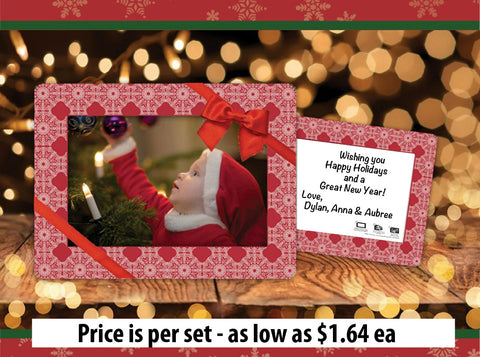 Fodeez Peel & Stick Holiday Card - Medallion - Fodeez® Adhesive Display Frames / Dry Erase Boards  - 1