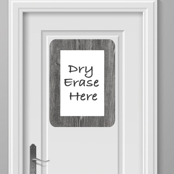 8.5 x 11 Rustic Dry Erase Adhesive Frames