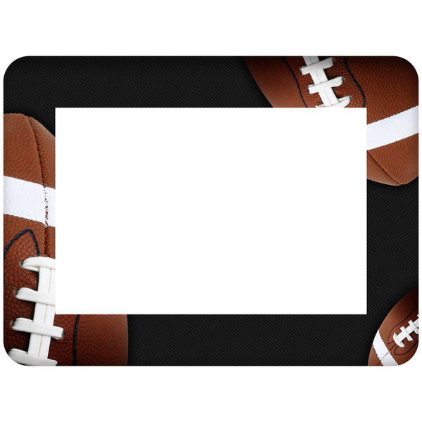 Football Themed Dry Erase Adhesive Picture Frames Collection