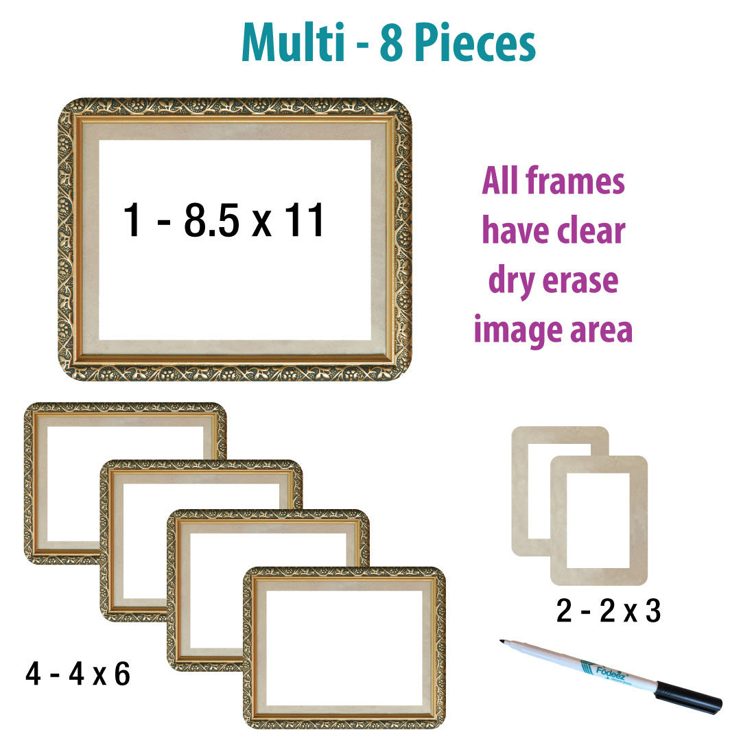 Classic Self-Stick Picture Frames