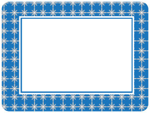 Grayscape Blue & Gray Self-Stick Picture Frames Collection