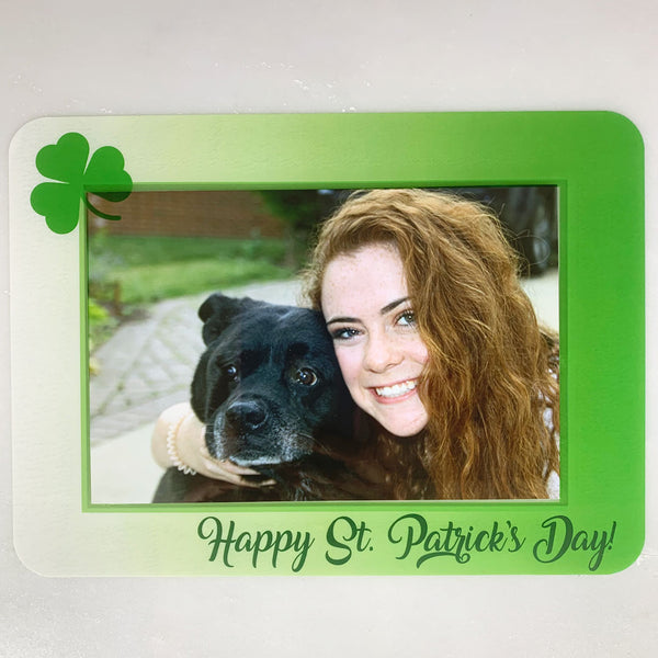 St. Patrick's Day Self-Stick Picture Frames Collection