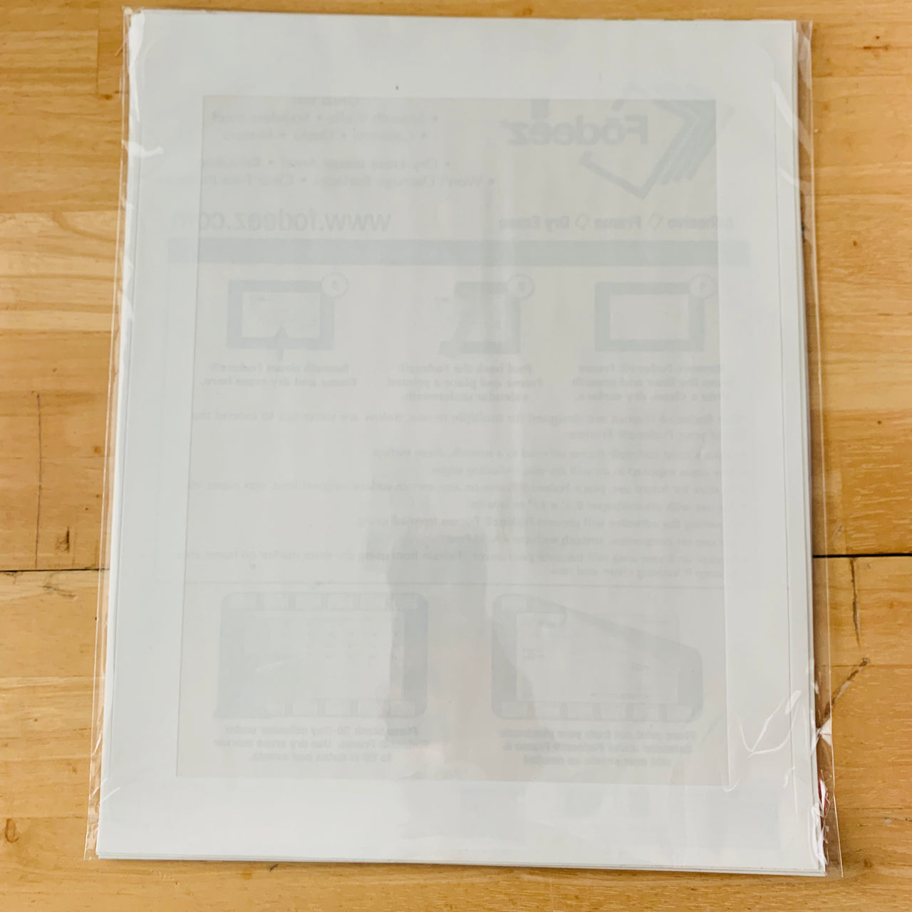 """Seconds"" Letter Size (8.5 x 11) Solid Self-Stick Picture Frames"