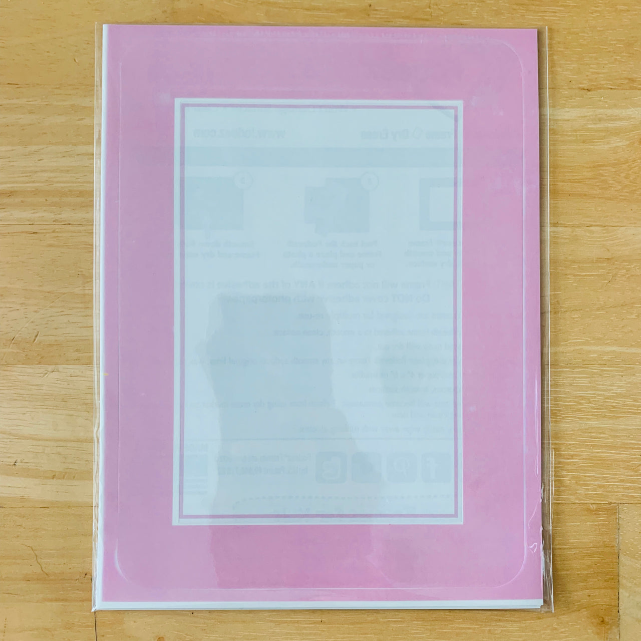 """Seconds"" 4 x 6 Solid Self-Stick Picture Frames"