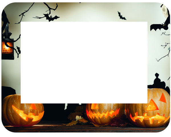 4 X 6 Fodeez® Frames - Halloween - Pack of 5 - Fodeez® Adhesive Display Frames / Dry Erase Boards  - 10