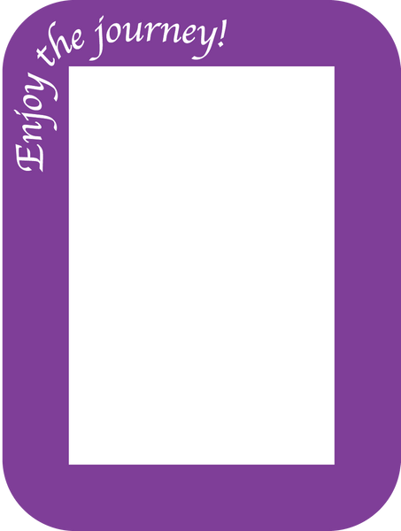 Positive Notes - Pack of 3 - Fodeez® Adhesive Display Frames / Dry Erase Boards  - 8