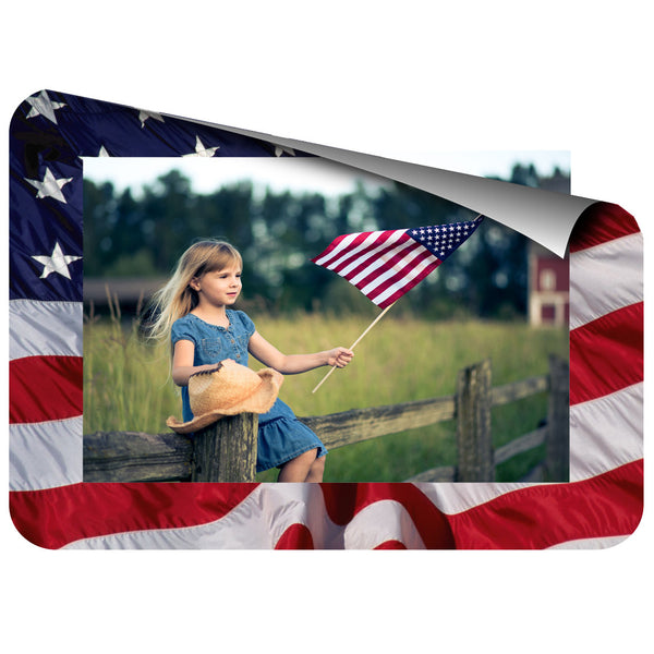 4 x 6 Patriotic Flag Fodeez® Frames - Pack of 5