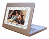 Fodeez Peel & Stick Holiday Card - Plaid - Fodeez® Adhesive Display Frames / Dry Erase Boards  - 3