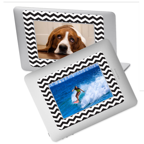 5 x 7 Chevron Adhesive Dry Erase Photo Frames