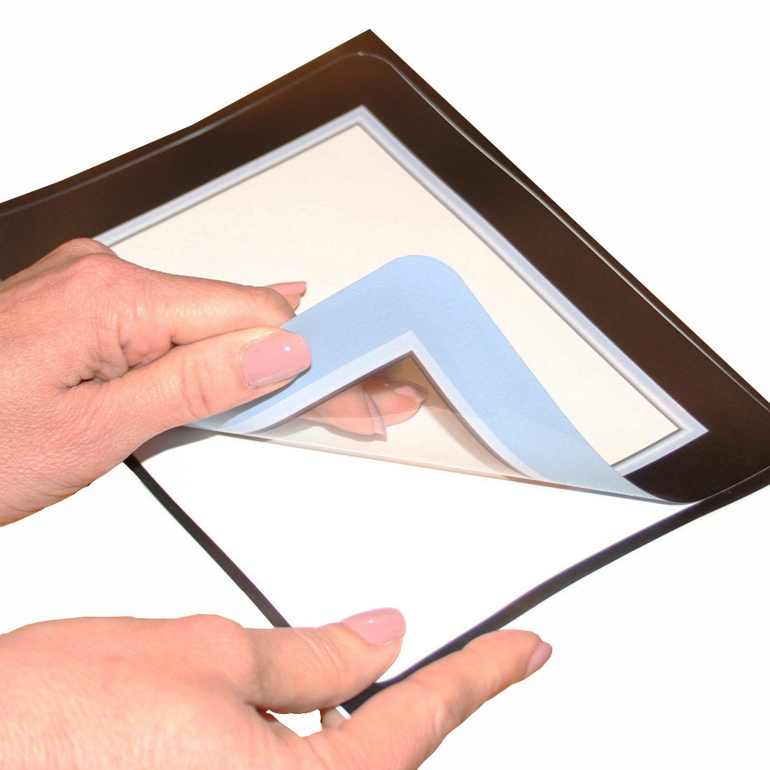 Self-Stick Picture Frames for St. John of the Cross Parish School