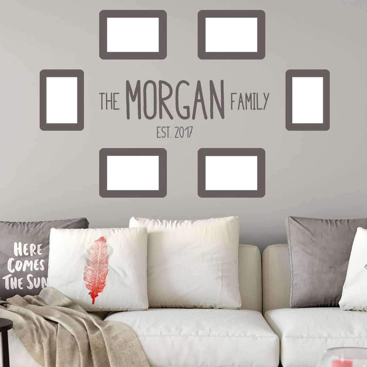 Family Surname Wall Decal