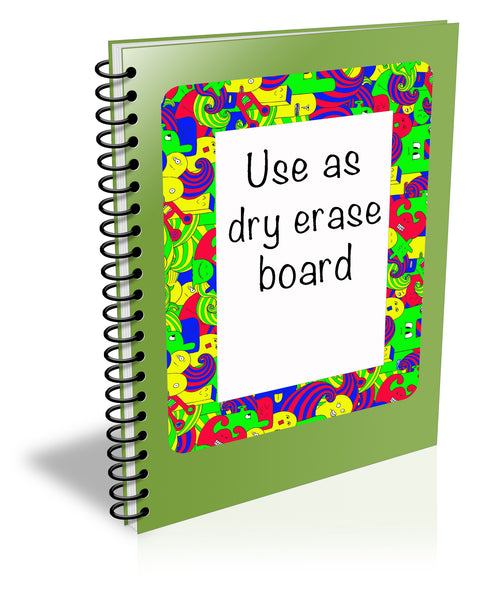 4 x 6 Colorable Adhesive Frames / Dry Erase Boards with Markers - Fodeez® Adhesive Display Frames / Dry Erase Boards  - 4