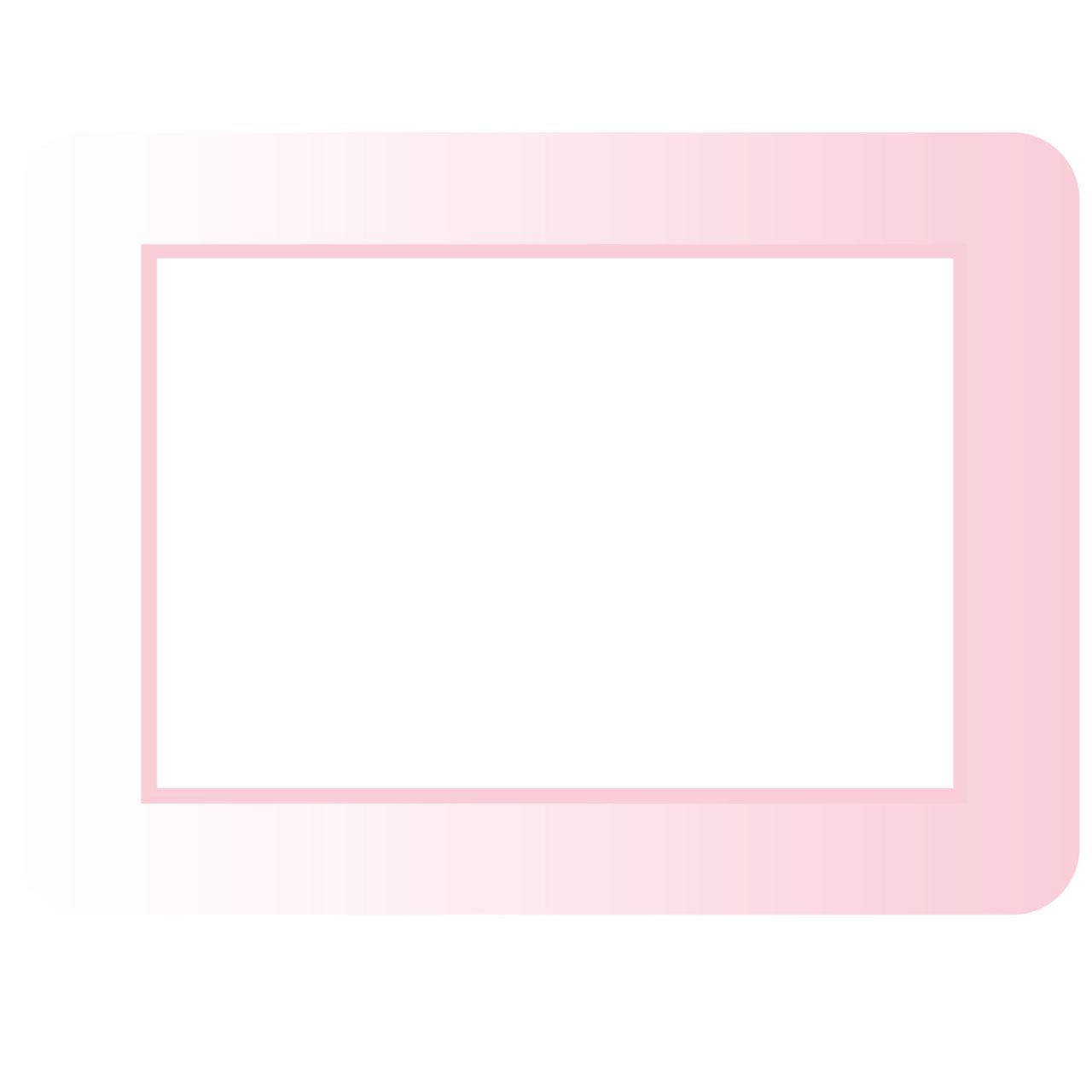 Ombre Self-Stick Picture Frames Collection