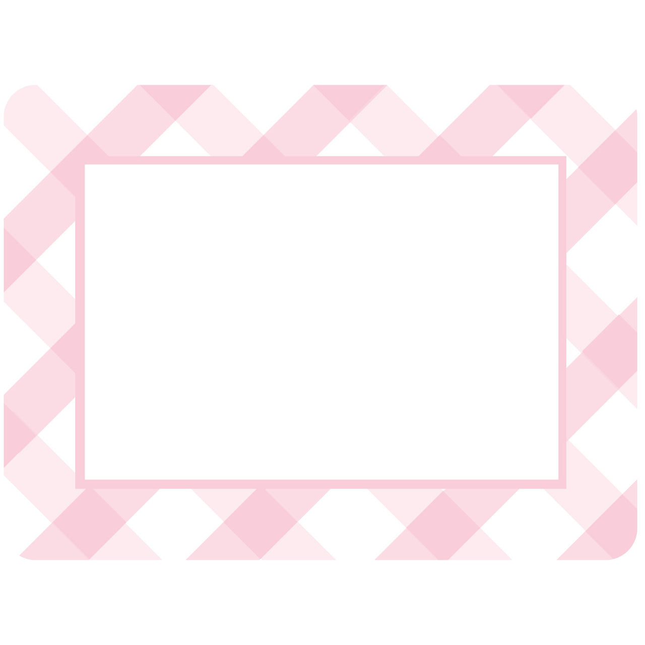 Buffalo Check Plaid Black Self-Stick Picture Frames Collection