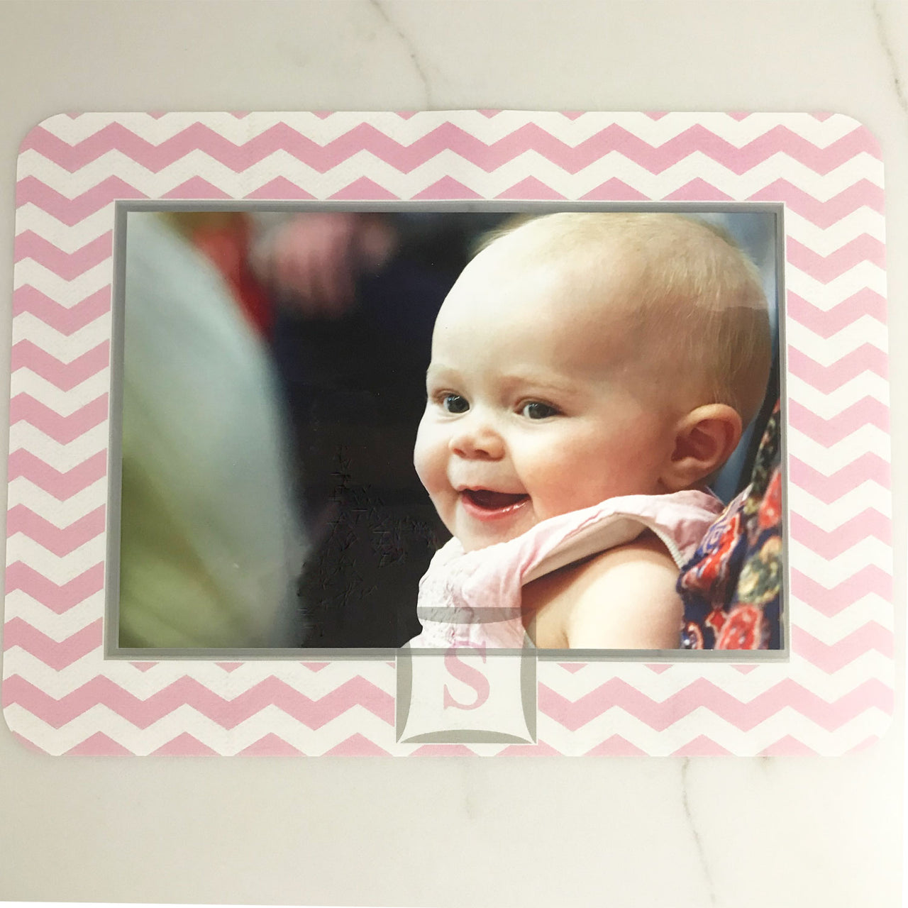 Monogrammed Self-Stick Picture Frames Collection