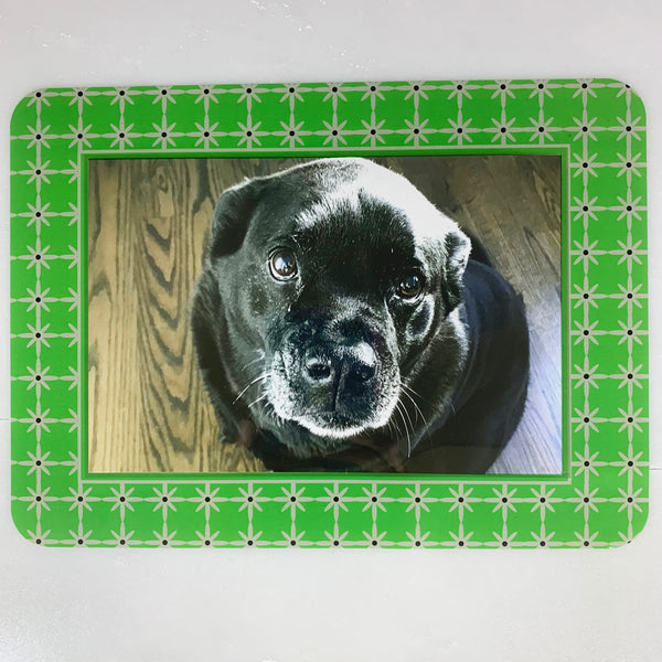 Grayscape Green/Gray Self-Stick Picture Frames Collection
