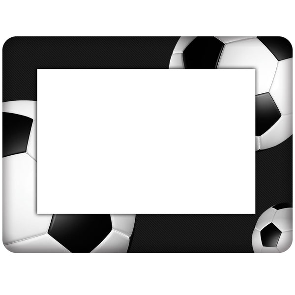 Soccer Themed Dry Erase Adhesive Picture Frames Collection