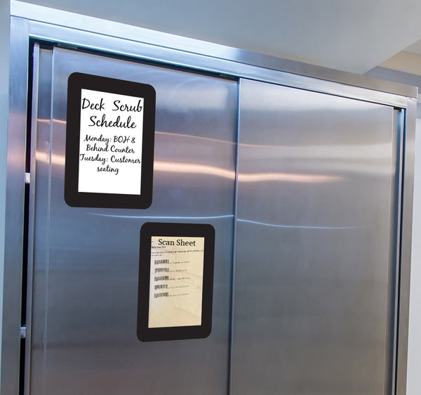 Dry Erase Self-Stick Adhesive Signage for the Food Service Industry