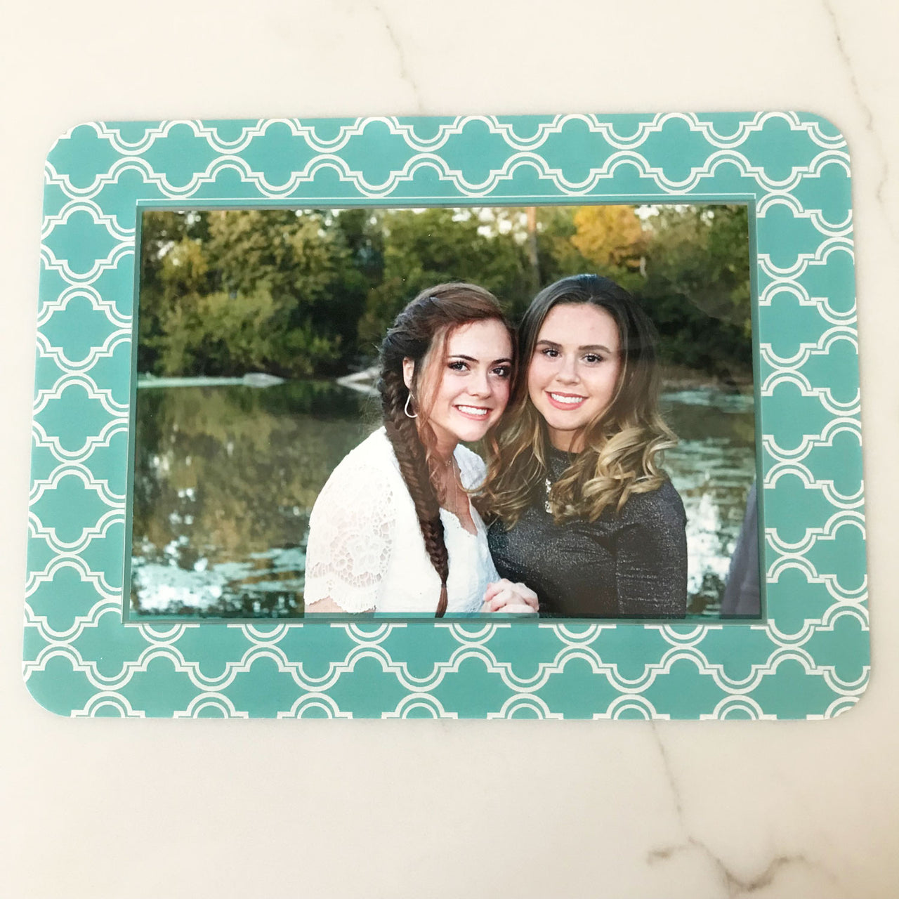 Coronado Teal Self-Stick Picture Frames Collection