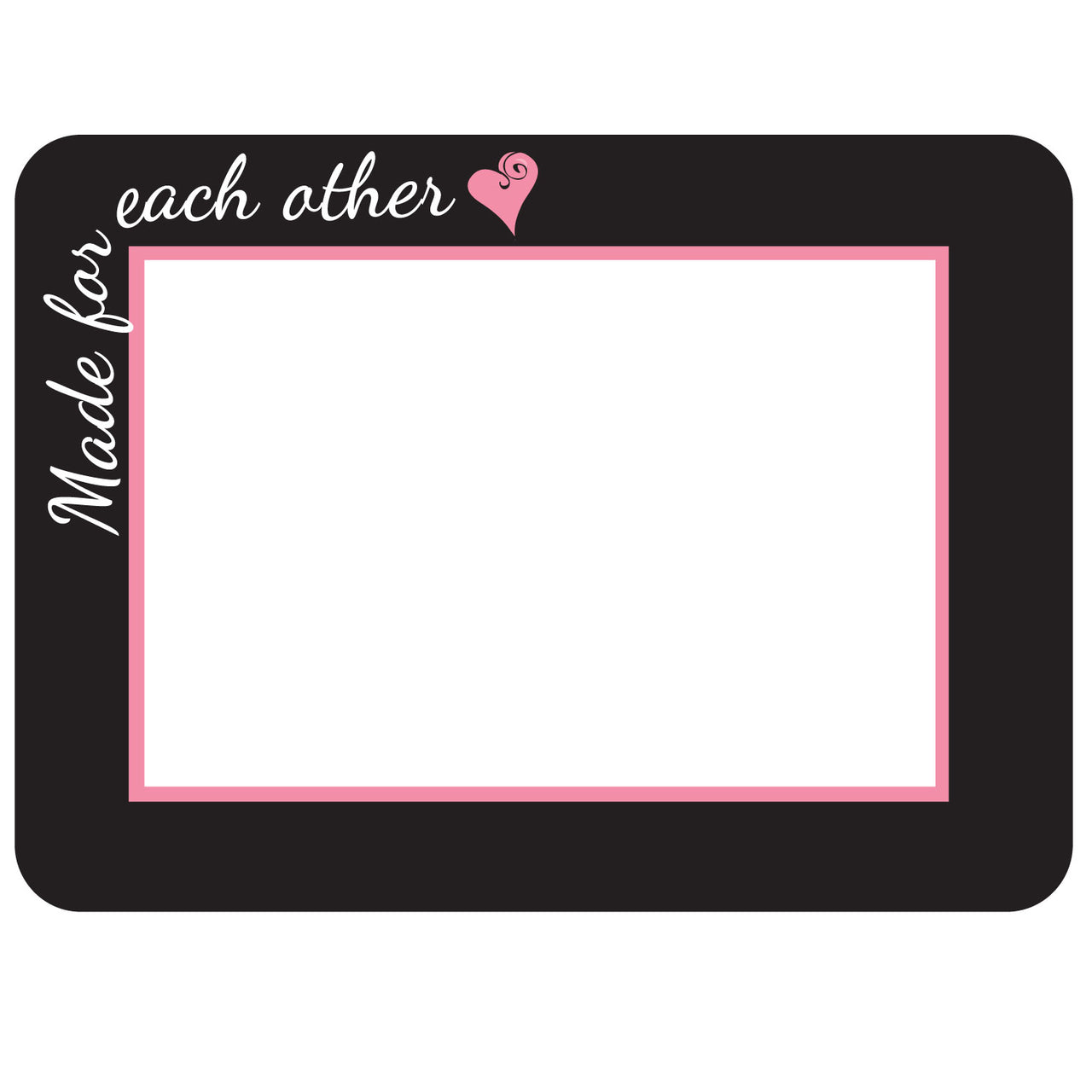 Made for Each Other Self-Stick Picture Frames Collection