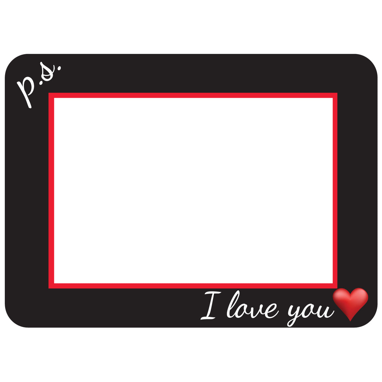 P.S. I love You Self-Stick Picture Frames Collection