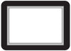 4 x 6 Beveled Adhesive Display Frames - Pack of 5 - Fodeez® Adhesive Display Frames / Dry Erase Boards  - 8