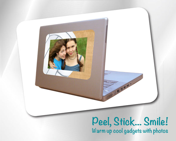 Fodeez® Composite Adhesive Display Picture Frames - 4x6 and 2x3 - Fodeez® Adhesive Display Frames / Dry Erase Boards  - 4