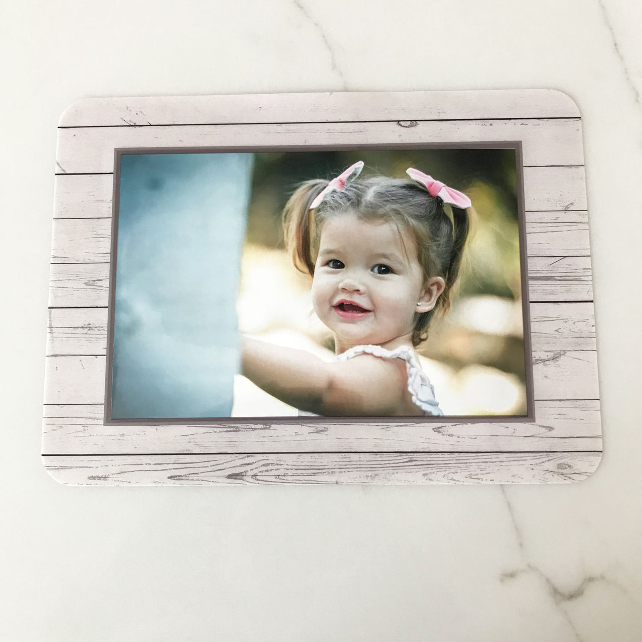 Antique White Self-Stick Picture Frames Collection