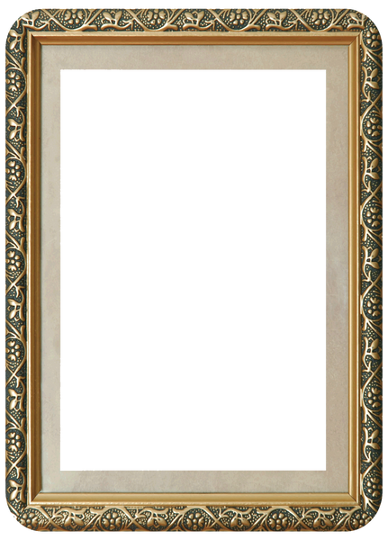 """Seconds"" Gilded Self-Stick Picture Frames"