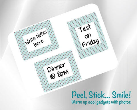 2 x 3 Fodeez® Notes Shabby Chic - Pack of 3 - Fodeez® Adhesive Display Frames / Dry Erase Boards  - 1
